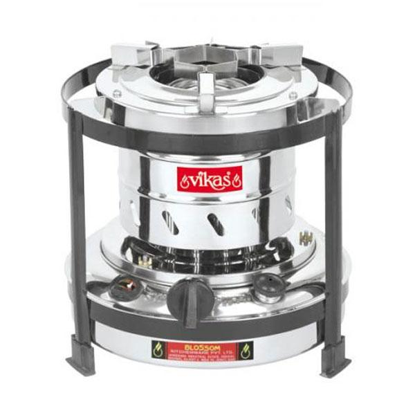 Fully Stainless Steel Stove (3 Liter 10 Wick Stove)
