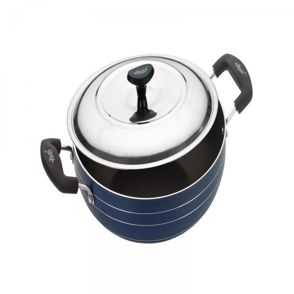 DEEP KADAI WITH S.S LID - AVAILABLE SIZES 220 MM, 240 MM, 260 MM, 280 MM